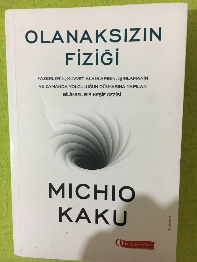 review on physics of the impossible by michio kaku essay Physics of the impossible by michio kaku of poorly constructed essays about cool aspects of physics will impress an proof i was sent to review.