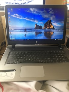 black and gray hp laptop in south bend letgo