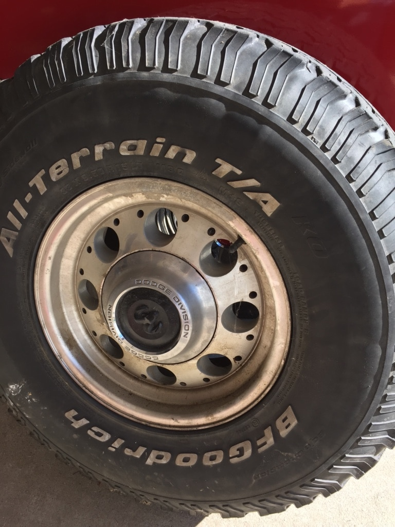 Dodge Rims In Parchment Letgo