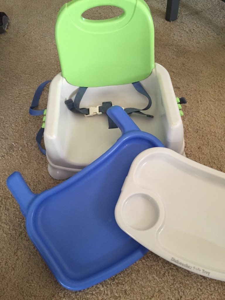 Fisher price travel high chair 5 00 fisher price travel high chair