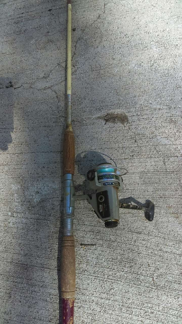 Letgo fishing poles rods in escondido for California fish and game jobs
