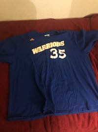 Kevin Durant Warriors Shirt 3XL Newark, 94560