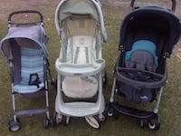 baby's gray-and-black travel system Los Angeles, 90061