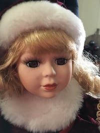 Porcelain Doll - Christmas