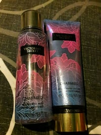 Victoria secrets  charmed body spray and lotion