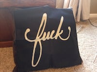 Black and gold pillow cover Parkville, 21234