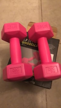 Dumbbells (2 of 2.5 pounds )