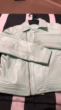 Gently Used Mint Green Justice Jacket- Final Listing Mississauga, L4Z 1H7