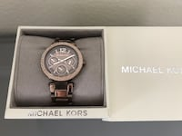 Mk watch brown gold  Calgary, T2L 2A5