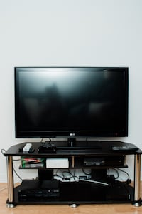 47 inch LED TV and Dark Brown TV Stand Toronto