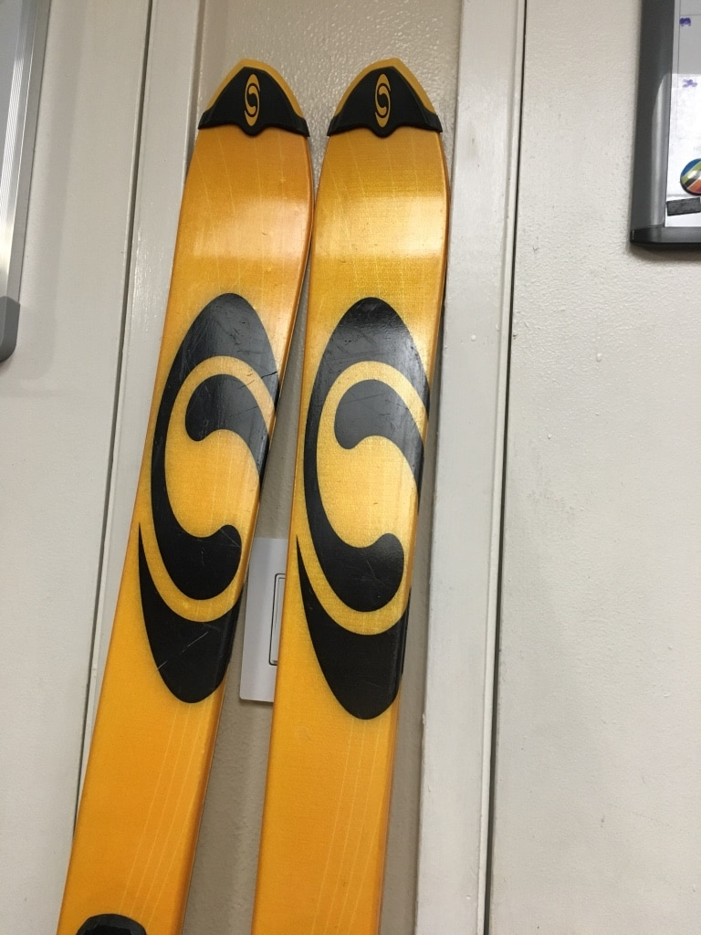 161cm Salomon teneighty Skis with marker fast track demo bindings full tune up
