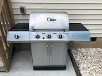 Char-Broil TRU-Infrared 3-Burner Natural Gas Grill with Side Charlotte