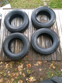 """Some make an offer.Bridge stone duelers 4 tires m+s 255/70 R18"""""""