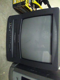 black crt tv and vcr works like new Las Vegas, 89120