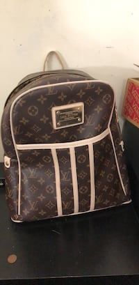 brown Louis Vuitton leather backpack Silver Spring, 20906
