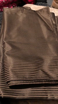 Brown with pinstripes blackout curtains  St. Louis, 63116