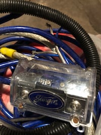 Stinger car audio wiring hardware