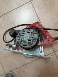 red and gray corded power tool 2258 mi