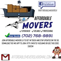 home movers and moving labor Las Vegas