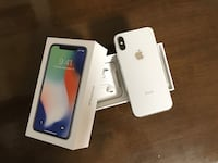 Apple iPhone X 256GB Silver - Factory Unlocked Gaithersburg, 20882
