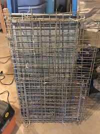 Large Dog cage, metal pan included Westchester, 60154