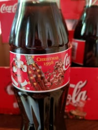 COCA COLA 8oz Bottle  with Santa Claus Original Gaithersburg, 20877