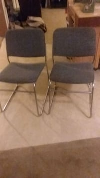 2 office chairs  Pearl