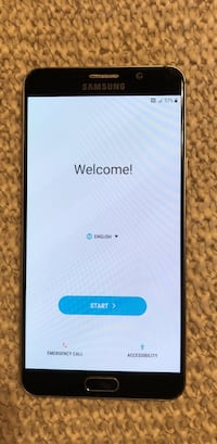 T-Mobile Samsung Note 5 32GB Black Cleveland, 37312