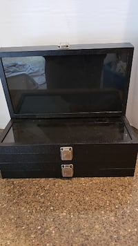 Small black display boxes 3 available $10 each Manassas