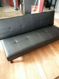 black leather tufted sectional sofa Ladysmith, V9G 1W7