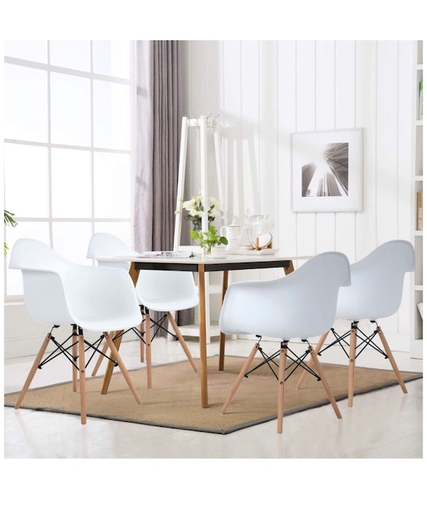 Mid-century modern chairs, set or 4
