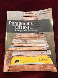 Paragraphs and Essays with Integrated Readings 13th Edition Bakersfield, 93307