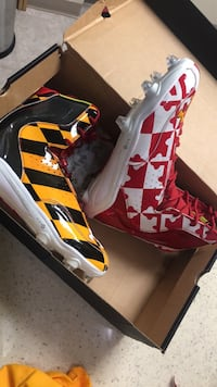 Brand New University Of Maryland Under Armor Team Cleats College Park, 20740