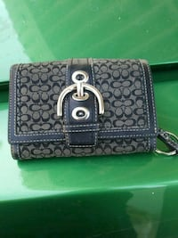 black and gray leather wallet Los Angeles, 90003