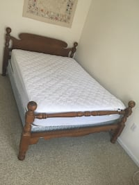 Full Sized Bed Frame and Mattress Somerville, 02145