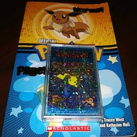 POKEMON BOOK WITH POCKET MONSTER PLAYING CARDS Sacramento, 95821