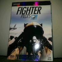 Preowned: Fighter pilots 4 DVD collector's set - Cardboard box shows a Edmonton, T6X 1J9