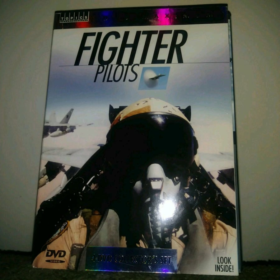 Preowned: Fighter pilots 4 DVD collector's set - C