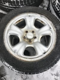 4 winter tires with rims 205/55/16 Vaughan