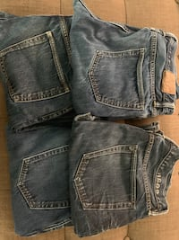 4 pairs of GAP Jeans 32 x30 Portland, 97205