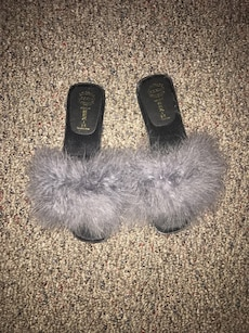 Brand New Fur Slippers