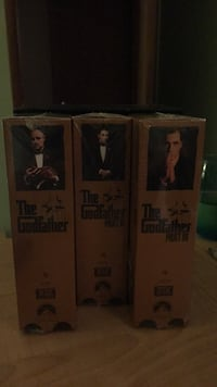 Collector item: Original VHS The Goodfather series, still in plastic wrap, never opened. 86 km