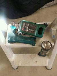 Makita drill light and charger all work great