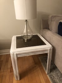 Chalk White Glass Table  Oshawa, L1K 1X9