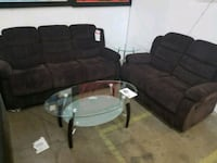 BRAND NEW FABRIC SOFA AND LOVESEAT RECLINING!!  Flower Mound