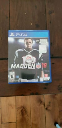 Madden NFL 18 PS4 game  Vancouver, V5W 1B1