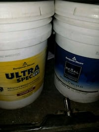 2 unopened 5 Gallons of Off White/Off White Paint Sacramento, 95842