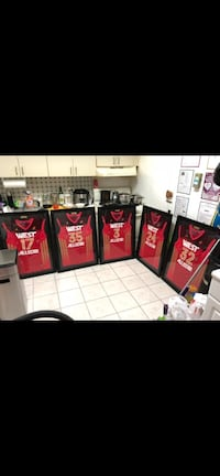 2012 western conf framed jerseys!  Kobe oncluded