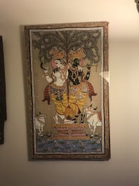 Antique pichwai  Painting on silk  india Cockeysville, 21030
