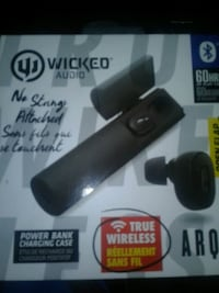 black and gray wireless microphone box